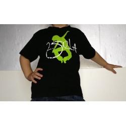 2 SI 2 LA - Tee-Shirt Enfant Noir Logo