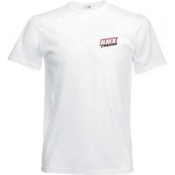 BMX Tee-Shirt Enfant Blanc