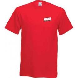 BMX Tee-Shirt Homme Rouge
