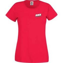 BMX Tee-Shirt Femme Rouge