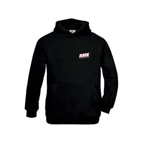 BMX Sweat Capuche Enfant Noir