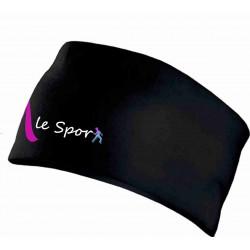 M LE SPORT Bandeau Sport Noir