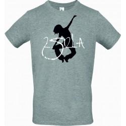 Tee Shirt Enfant Logo Gris