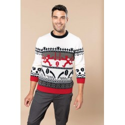 PULL MOTIF RUGBY