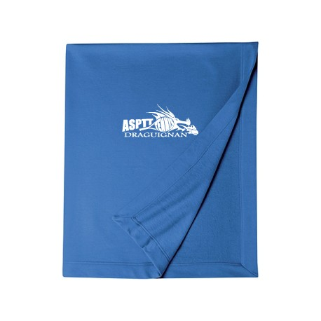 ASPTT Tennis - Plaid Bleu Logo Blanc
