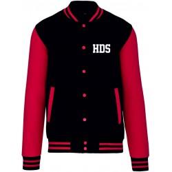 Teddy HDS Noir / Rouge